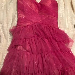 Prom/Sweet 16 pink sparkly dress